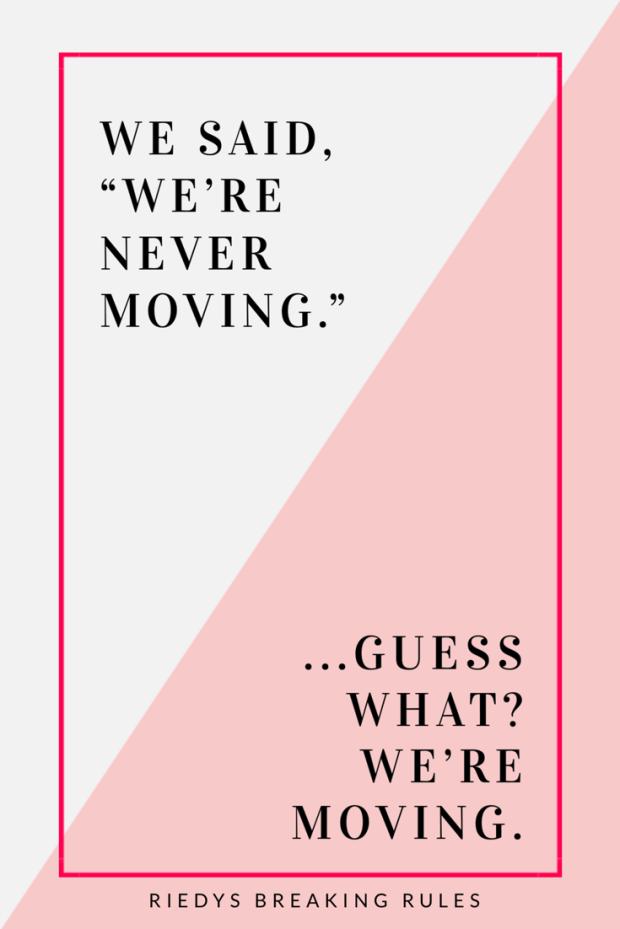 Deciding to Move
