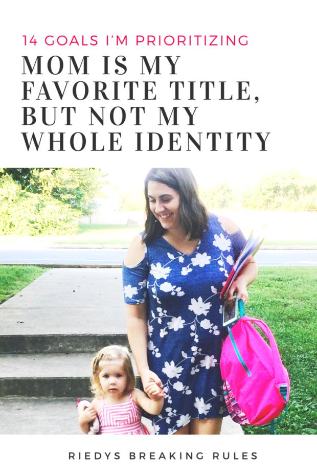 Mom is one piece of identity