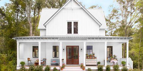 White Farmhouse Inspiration