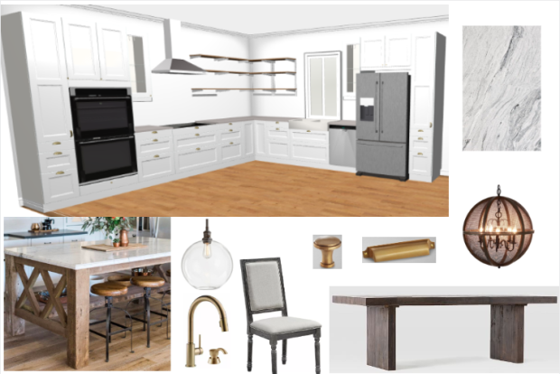 Kitchen Mood Board Final